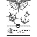 Sail Away Clear Stamps CS244