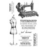 Mademoiselle Clear Stamps CS268