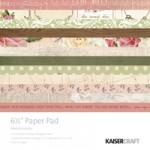 "Mademoiselle 6.5"" x 6.5"" Paper Pad"