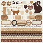Furry Friends - Cat sticker sheet