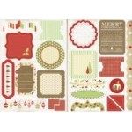 Be Merry Die Cut Elements