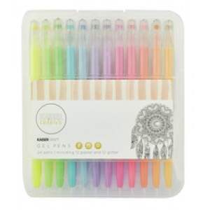 Kaisercraft Gel Pens 24 set