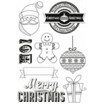 Gingerbread Clear Stamps