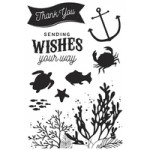 Mermaid Tails Clear Stamps