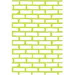 Bricks decorative die