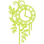 Foliage Clock decorative die
