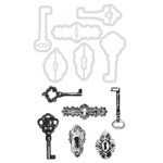 Keys & Locks decorative die and stamp