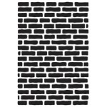 Bricks embossing folder