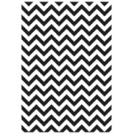 Chevron embossing folder