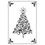 Framed Tree embossing folder