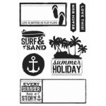 Sandy Toes Clear Stamps