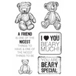 Teddy Bear's Picnic Clear Stamps
