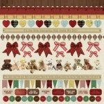 Teddy Bear's Picnic Sticker Sheet