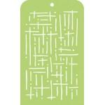 Dots & Dases Mini Template IT007