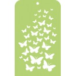 Butterfly Skies Mini Template IT011