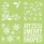 Holly 12x12 designer template IT916