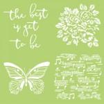 Butterfly designer template IT922