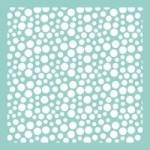 Bubbles template T605