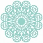 Lace Doily 12x12 Template T617