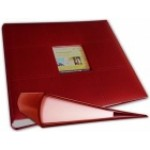 Dark Red 3 Ring Binder