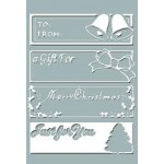 Christmas Tags Embossing Folder