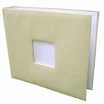 Cream 3 Ring Binder