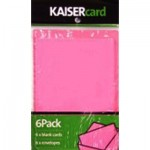Hot pink card pack