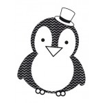 Penguin Clear Stamp