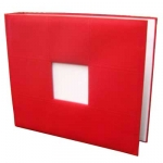 Bright Red 3 Ring Binder