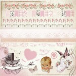 Bundle of Joy Girl Sticker Sheet