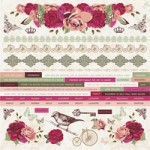 Lady Rose Sticker Sheet