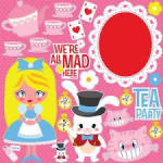 Alice in Wonderland Sticker Sheet
