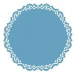 Victorian Circle border punch